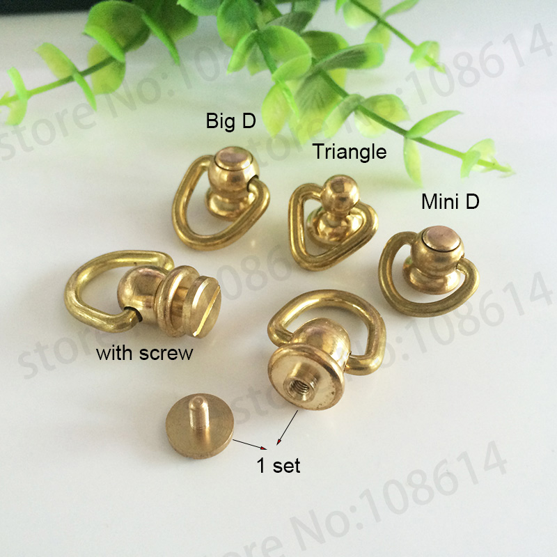 Head Button Stud O Rings Screwback 8mm Spot Screw Chicago Nail Bags Rivet Craft
