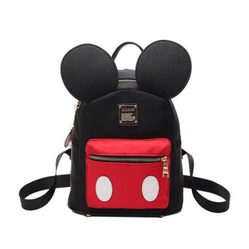 New Fashion Brand Design Women Backpack Mickey Shaped Bag Cute Funny Evening for Birthday Gift