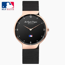 MLB 2018 New arrival Watch Simple Quarzt Lover's Watch with Stainless Steel Strap Waterproof Watch For Men and Women SD020