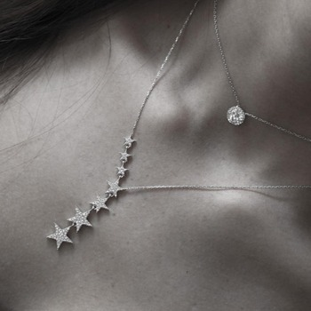 Stars Woman Necklace 10