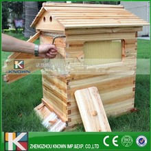 automatic honey self flow solid wooden bee hive/liquid honey flow boxes