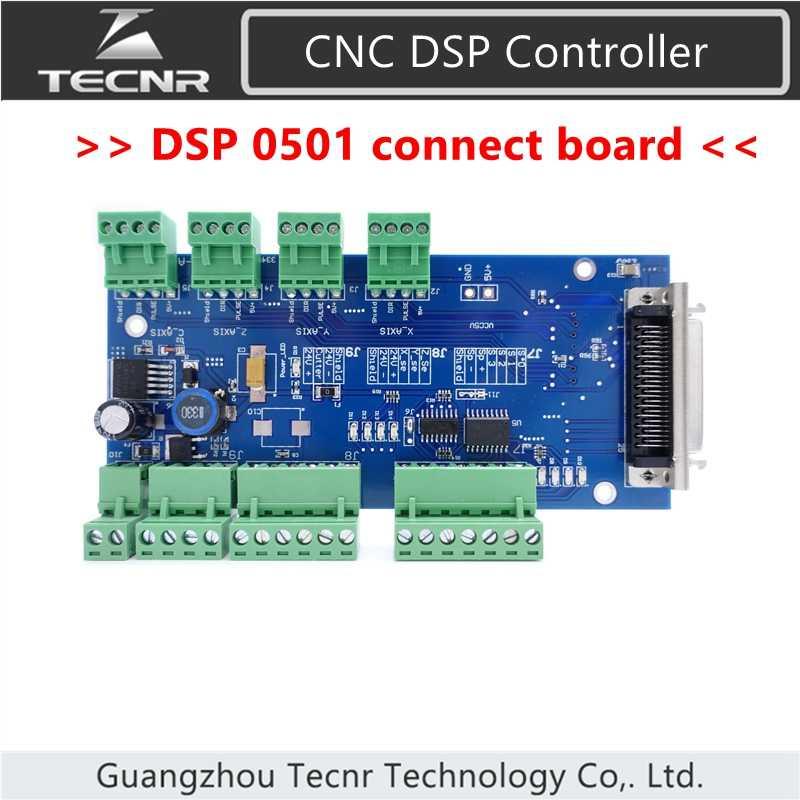 3 axes DSP0501 contrôleur connecter carte de câblage pour routeur CNC