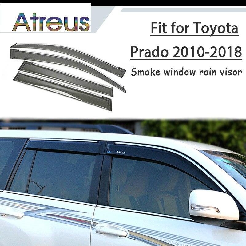 Atreus 1set ABS For 2018 2017 2016 2010 Toyota Prado 150 J150 Accessories Car Vent Sun