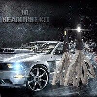 2PCS Set H1 H4 H7 6400LM 30W S7 LED Light ALL IN ONE Car Headlight Auto