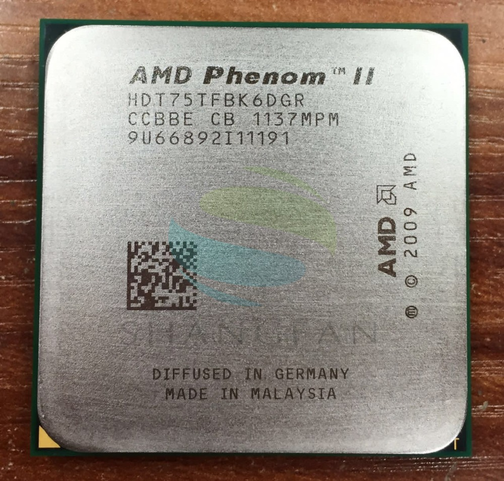 AMD Phenmon X6 1075T X6-1075T 3.0GHz Six-Core CPU Processor HDT75TFBK6DGR 125W Socket AM3 938pin