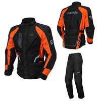 Nerve 브랜드 오토바이 재킷 높은 품질 독일 남성 야외 승마 motorbiket 정장 재킷 바지 motorcross 세트 보호 ce