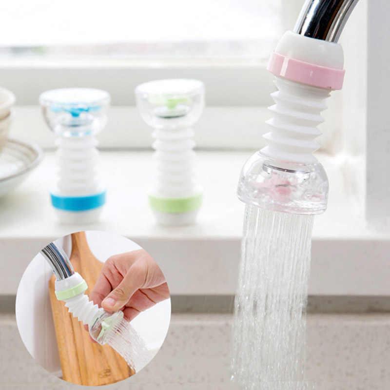 360 度回転節水 Aeraters 台所の蛇口水タップ噴霧器プラスチック防滴バブラーキッチンツール