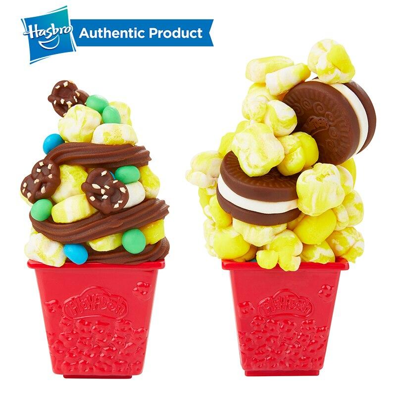 Juego de palomitas de maíz de la serie de la cocina creativa del Peleto de la fiesta de las palomitas del Doh de Hasbro Set Play-Doh - 5