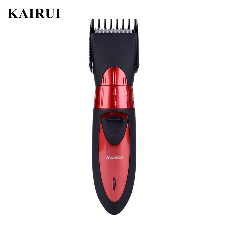 KAIRUI 220-240 V Homens Barbeador Elétrico Trimmer Máquina de Cortar Cabelo Máquina de Corte de Cabelo Para O Bebê Haircut maquina de Barbear Lavável cortar cabelo