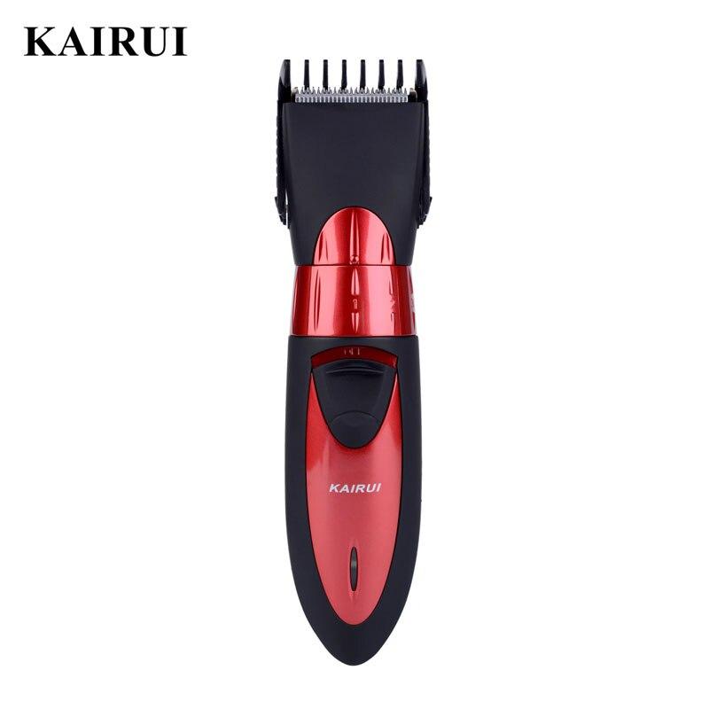 KAIRUI 220-240V Hair Clipper Trimmer Men Shaver Razor Washable Hair Cutting Machine For Baby Haircut Maquina De Cortar Cabelo