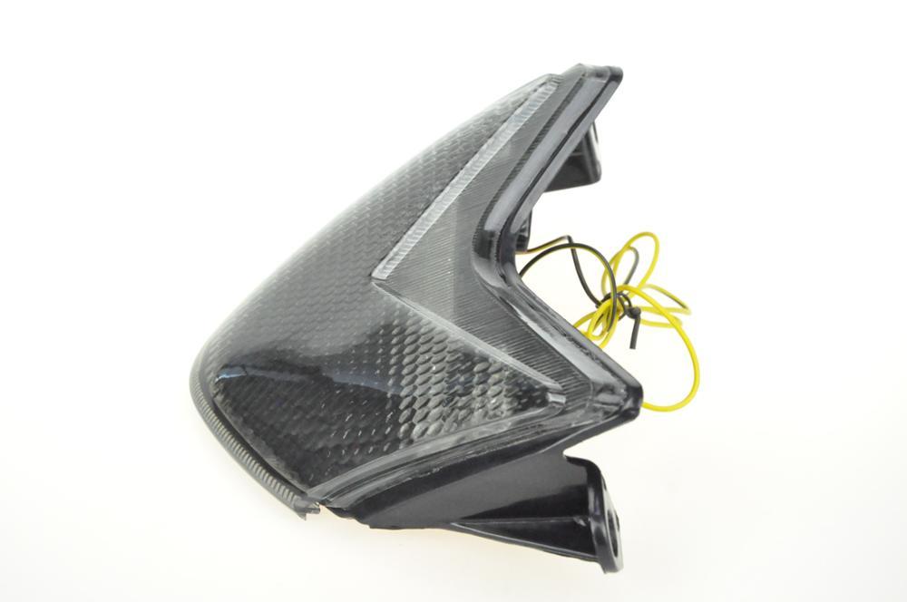 Светодиодный Встроенный задний фонарь сигнальные лампы для KAWASAKI NINJA ZX-6R 05-06/ZX-10R 06-07/636 05-06/Z750S 05-06