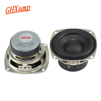 GHXAMP HIFI 4 Inch 4OHM 20W Subwoofer Speaker Super Bass Tough R Rubber Side Home Theater