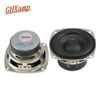 GHXAMP HIFI 4 Inch 4OHM 20W Subwoofer Speaker Super Bass Tough R Rubber Side Home Theater