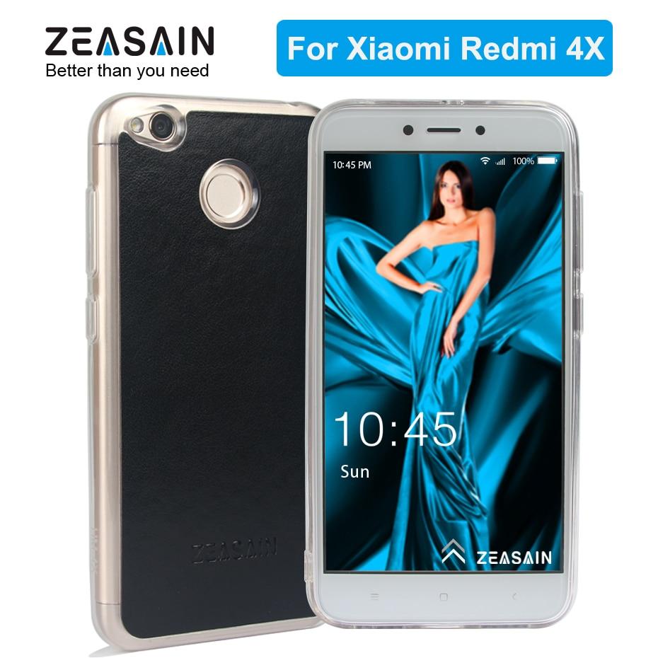 Original ZEASAIN Luxury Anti Knock Clear TPU fodral för xiaomi redmi - Reservdelar och tillbehör för mobiltelefoner