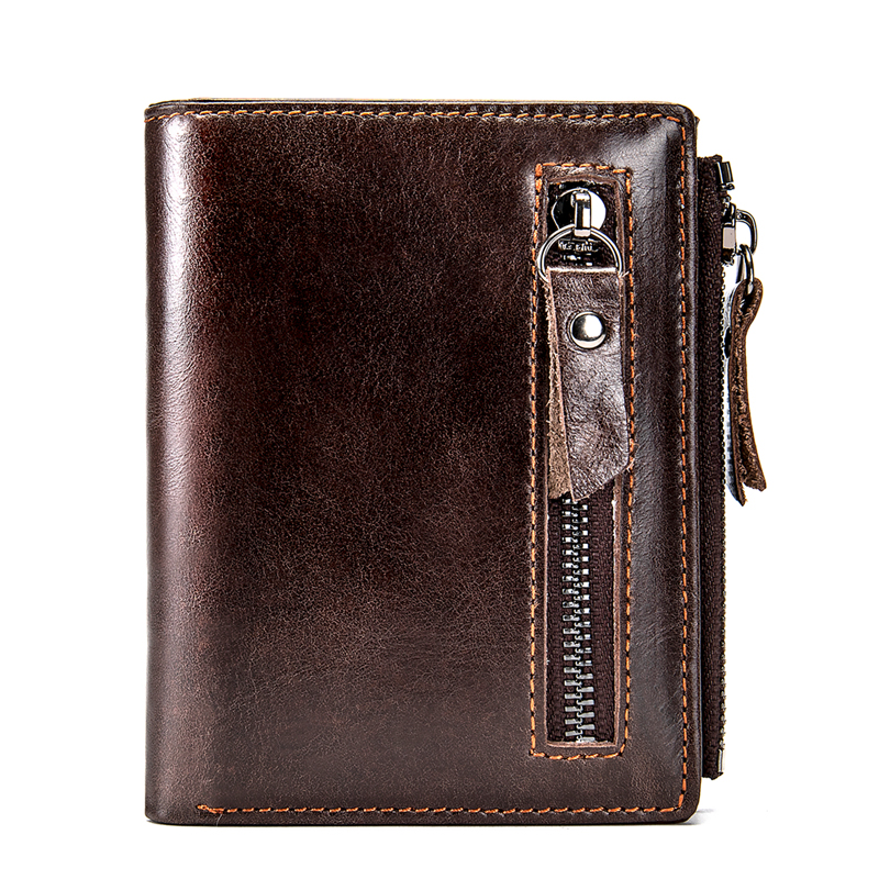 Male Wallets Purse Clutch-Bag Money-Bags Classic Zipper Small Card-Holder Short Men
