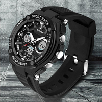 Watches Men Luxury Brand SANDA Led Sport Military Men S Wristwatch 50M Waterproof Analog Quartz Casual