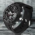Relógios Homens Marca De Luxo SANDA Led Esporte Militar relógio de Pulso dos homens 50 M À Prova D' Água Quartz Analógico Casual Assista Relogio masculino