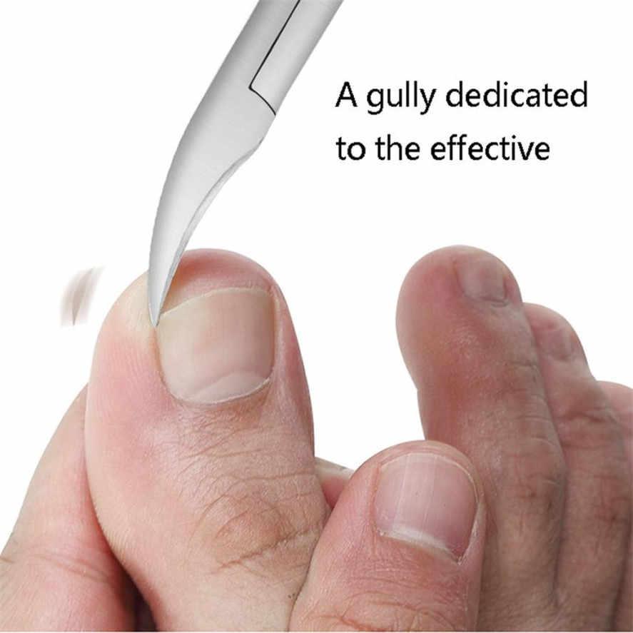 ใหม่นิ้วเท้าตัดเล็บ1ชิ้นเล็บแก้ไขคีมตัดผิวที่ตายแล้วสกปรกRemover Podiatryเล็บเท้าดูแลเครื่องมือ30