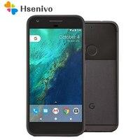 HTC Google Pixel Refurbised-Original del teléfono móvil 4G LTE 5,0 pulgadas Snapdragon 821 Quad Core 2770mAh 4GB de RAM 32GB/128GB ROM