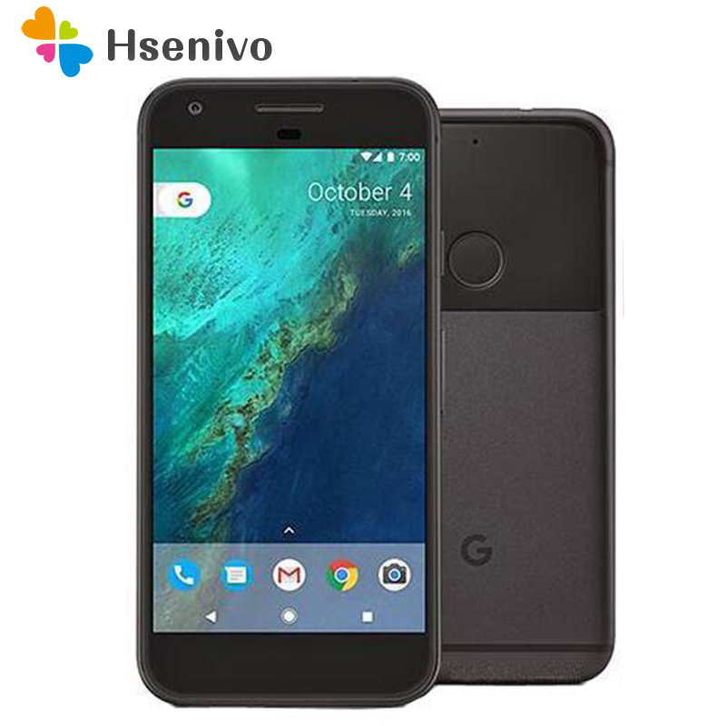 Original desbloqueado teléfono celular HTC Google Pixel X/XL/5,0/5,5 pulgadas de pantalla 4G LTE 4 GB RAM 32 GB/128GB ROM teléfono