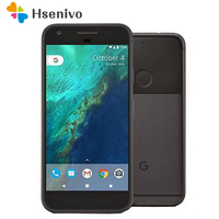 Telefone original desbloqueado htc google pixel x/xl 5.0/5.5 polegadas tela 4g lte 4 gb ram 32 gb/128 gb rom