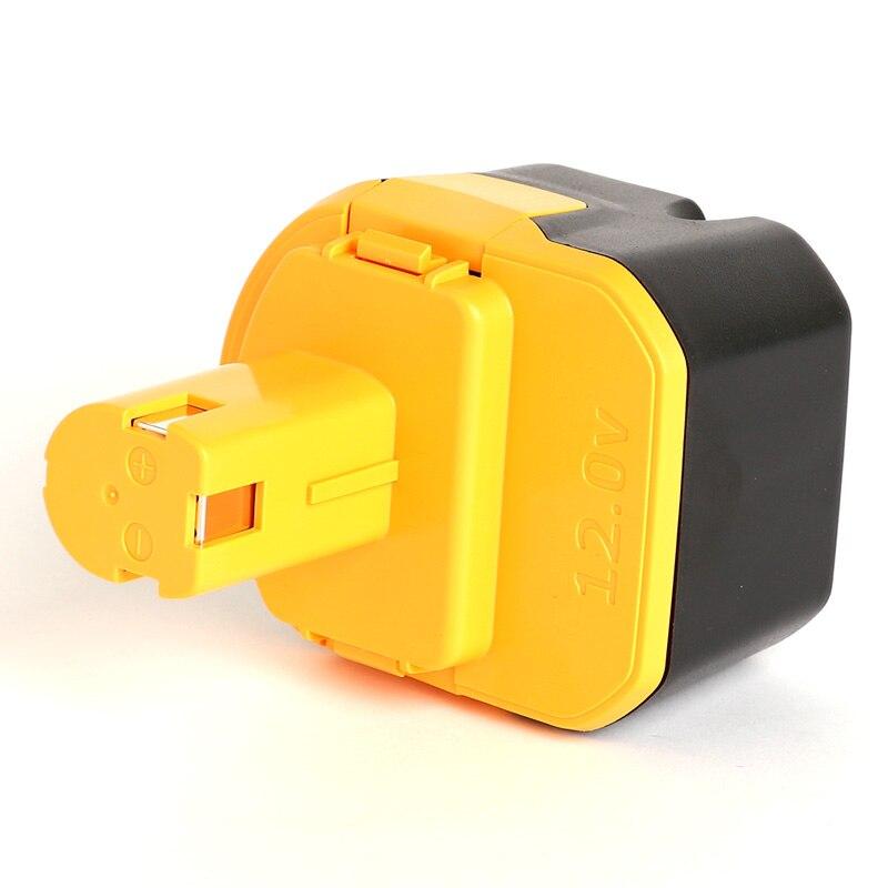12V A 3000mAh batterie d'outil électrique pour Ryobi CTH1202K/CTH1202K2/FL1200/HP1201KM2/HP1201M/R10510/RY1201/TDS4000/TF1100/TFD220