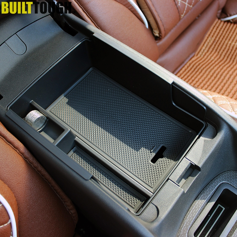 For Chevrolet Malibu 2016 2017 Armrest Secondary Storage Box Center Console Tray