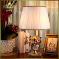 Modern Europe quality crystal desk Lamp lighting bedroom bedside lamp luxury fashion crystal table lamp Abajur e14 bulb