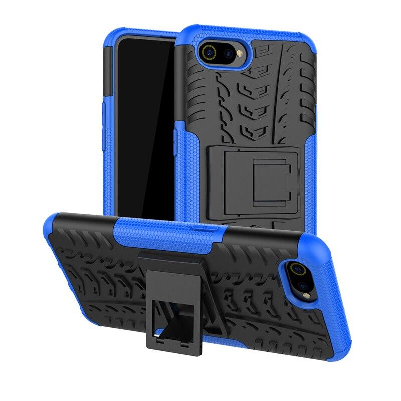 sFor OPPO Realme C2 Case Heavy Duty Hard Rubber Silicone Phone Fundas Case Cover For OPPO Realme C2 Case for OPPO Realme C2 Case