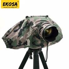 Ekosa Professionnel Caméra Pluie Couvre Manteau Sac Protecteur Imperméable Étanche À La Poussière pour Canon Nikon Sony DSLR SLR Pendax