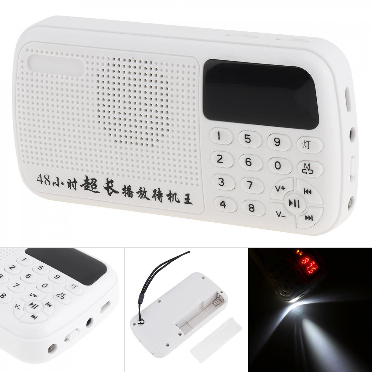 Tragbares Audio & Video E11 Tragbare Radio Mini Audio Karte Lautsprecher Fm Radio Mit 3,5mm Kopfhörer Jack Für Hause Im Freien