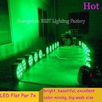8pcs Lot Fast Shipping American DJ Mega Tri Par Profile Bright Stage LED Wash Light RGB
