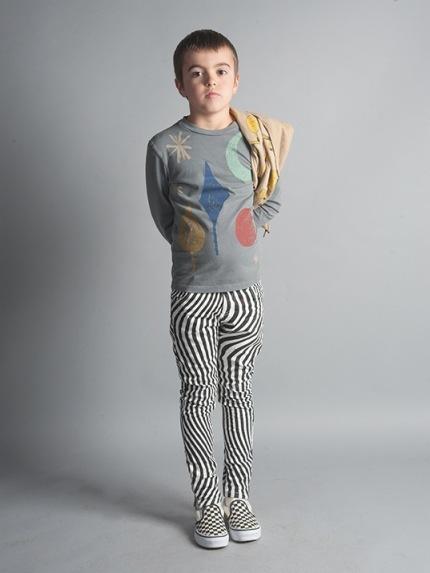 2016 nuevo Otoño de la manera bobo choses para niños camiseta Del Bebé Del algodón de la manga completa patrón de árbol de la luna para el muchacho tops Tee