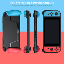 New Portable Case for Nintend Switch Console Carry Gaming Bag Soft TPU Case with Ergonomic Grip Shell Pouch for Nitendo Switch