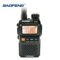 Baofeng UV 3R+ Plus Mini Walkie Talkie Portable UHF VHF Two Way Radio Comunicador Uv 3r Hf Transceiver Ham Radio Uv3r Woki Toki