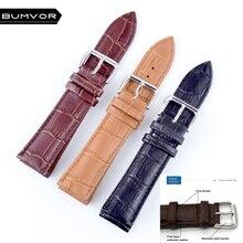 Durable men women Genuine Leather watch strap for &women 12 ,14,16 18  20 22 24mm genuine leather Watch Band