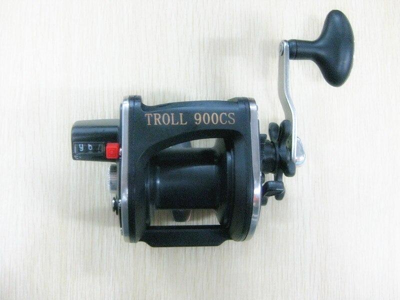 Moulinet de pêche en plastique de pêche en mer TRO900 roue de pêche