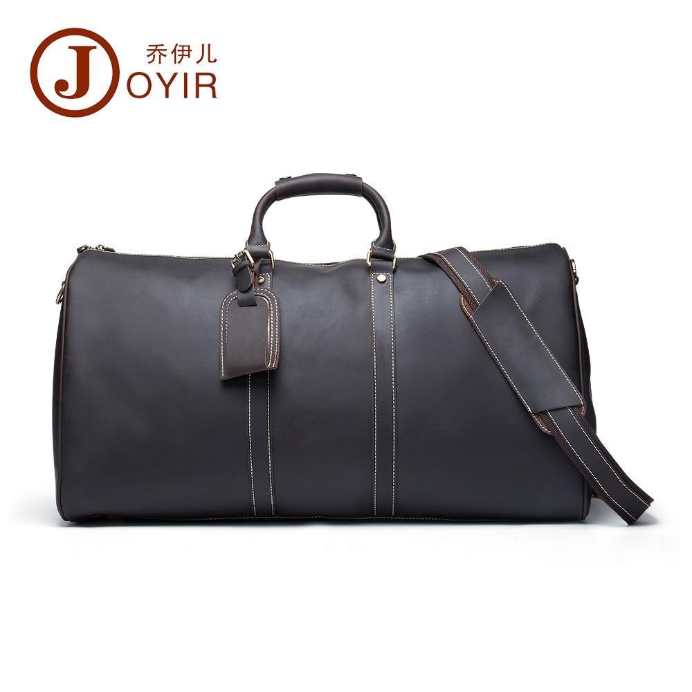 2017 Designer Handbags High Quality Genuine Leather Travel Bag Men Travel Bags Vintage Luggage Large Duffle Bag Weekend Bag 6321