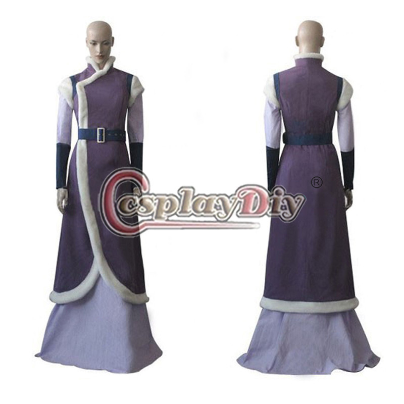 cosplaydiy avatar the last airbender cosplay costume adult women halloween carnival cosplay dress custom made d0406