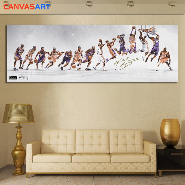 Kobe Bryant Canvas Poster