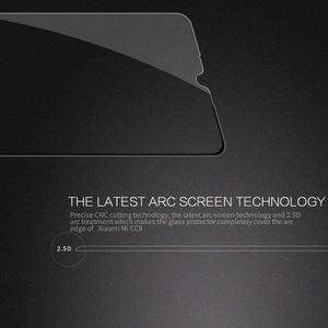 Image 3 - Xiaomi CC9E CC 9E Mi9 Lite 용 강화 유리 xiaomi Mi 9 Lite 유리 용 nillkin cp + pro 2.5d 풀 접착제 필름