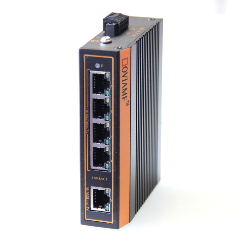 Купить с кэшбэком 5 ports Ethernet Switch Industrial Ethernet Switch 10/100mbps RJ45 connector,DIN Rail Ethernet Network Switch