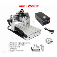 Free Tax To Russia Mini Cnc Lathe Machine Woodworking Router 2520T ER11 Collet