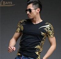 2016 The New Fashion Men Casual T Shirt Men Short Sleeve T Shirt Men S High