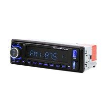2018 Auto Parts Audio Stereo In-dash 1 Din FM Aux Input Receiver Player Car Radio 12V Bluetooth V2.0 SD Card USB MP3 Car