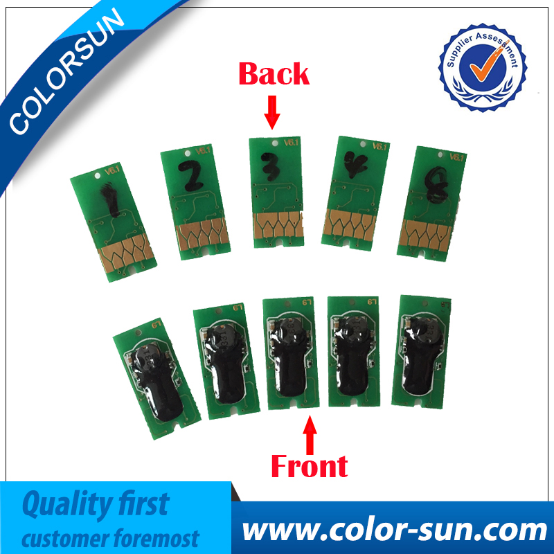 5pcs for Epson 7700/9700/7710/9710/ Compatible Chips Resetter Chips for Ink Cartridge T5971/T5972/T5973/T5974/T5978 waste ink tank chip resetter for epson 9700 7700 7710 9710 printers maintenance tank chip reset