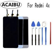 ACAIBU Pour Xiaomi Redmi 4X LCD Affichage Digitizer + Assemblée D'écran Tactile 5.0 pouces Avec Cadre Outils Gratuits