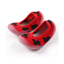 Toddler Baby First Walking Shoes Shallow Mouth Floor Socks With Rubber Sole mr001(China)