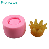 New 3D Crown Styling Chocolate Silicone Mold Fondant Cake Mold DIY Cake Decorating Tools Kitchen Baking Tools MJ 01569
