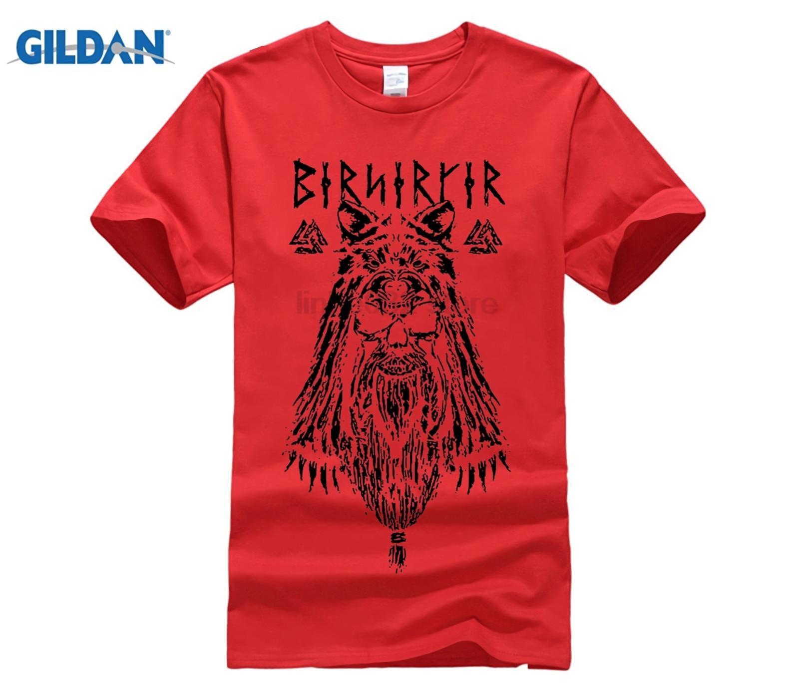 9a6160ca1 Viking Berserker Stylish T Shirts Men s Round Neck Short Sleeve Clothes New  Cotton Adult Tshirt Sales Tees Vikings Odin
